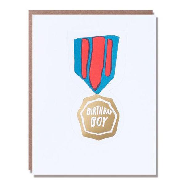 Egg Press/シングルカード/Birthday Boy Badge