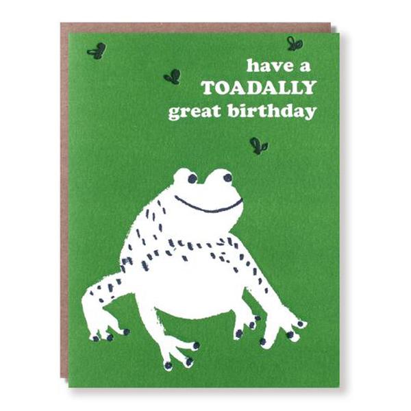 Egg Press/シングルカード/Toad Birthday