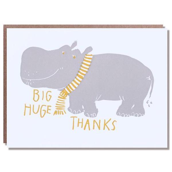 Egg Press/シングルカード/Hippo Big Thanks