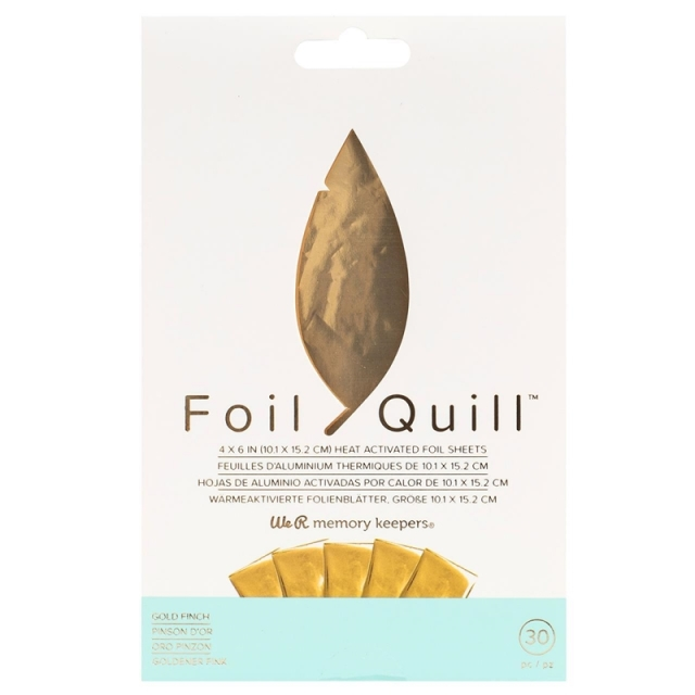 Foil Quill/ホイルシート/Foil Sheets - Gold 30枚入り