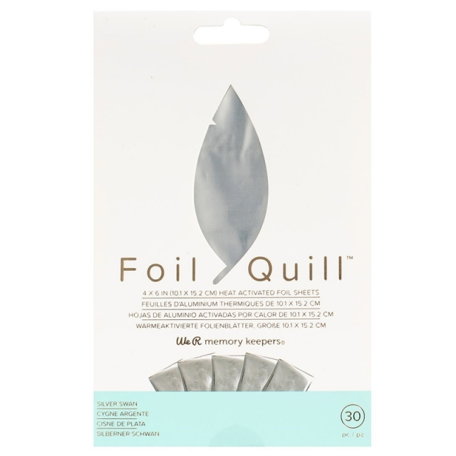 Foil Quill/ホイルシート/Foil Sheets -Silver 30枚入り