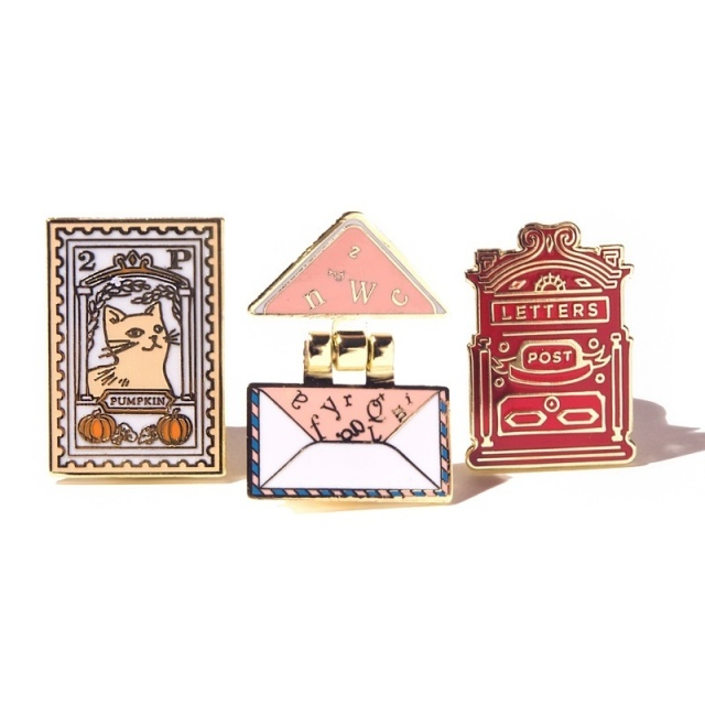 Ferris Wheel Press/ピンコレクション/The Lucky Charms Pen Pal Pin Collection