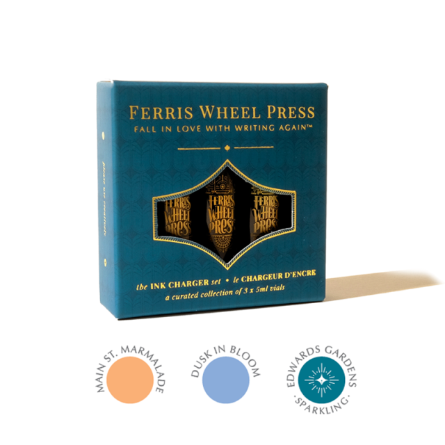 Ferris Wheel Press/インクセット/Ink Charger Set - The Twilight Garden Collection