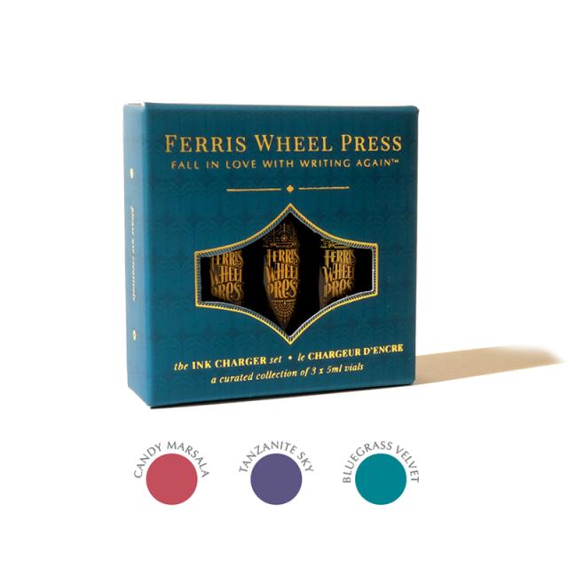 Ferris Wheel Press/インクセット/Ink Charger Set - The Original Trio