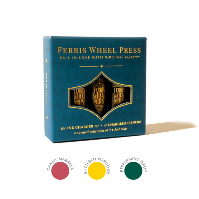 Ferris Wheel Press/インクセット/Ink Charger Set - The Candy Stand Collection