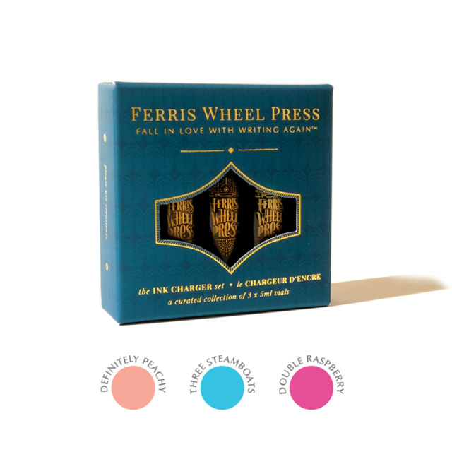 Ferris Wheel Press/インクセット/Ink Charger Set - Life is Peachy