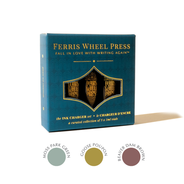 Ferris Wheel Press/インクセット/Ink Charger Set - The Moss Park Collection