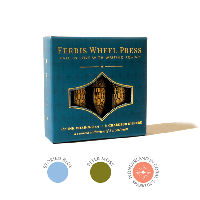 Ferris Wheel Press/インクセット/Ink Charger Set - The Bookshopee Collection
