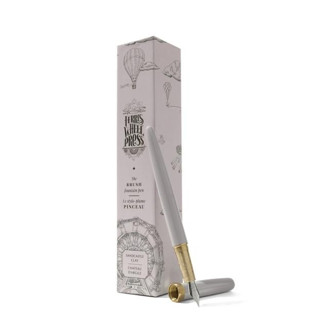 Ferris Wheel Press/万年筆/Sandcastle Clay Brush Fountain Pen Fine