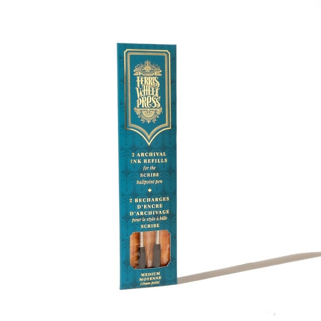 Ferris Wheel Press/ボールペン替え芯/The Scrive Ballpoint Pen Ink Refill - Black Tie