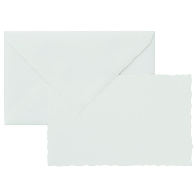 ジーラロ/カードセット/3 Cards and Envelopes (White)