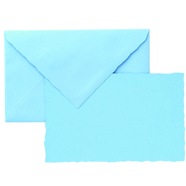 G. Lalo/カードセット/3 Cards and Envelopes (Blue)