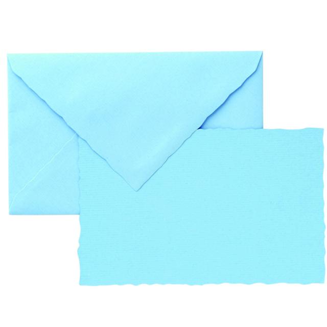 ジーラロ/カードセット/3 Cards and Envelopes (Blue)
