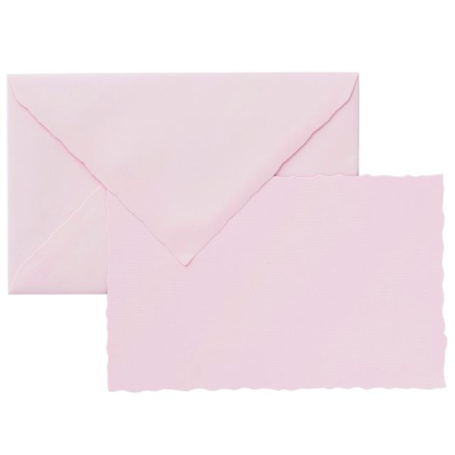 ジーラロ/カードセット/3 Cards and Envelopes (Rose)