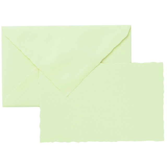 ジーラロ/カードセット/3 Cards and Envelopes (Ivory)