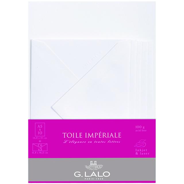 ジーラロ/レターセット/TOILE IMPERIALE Letter Set