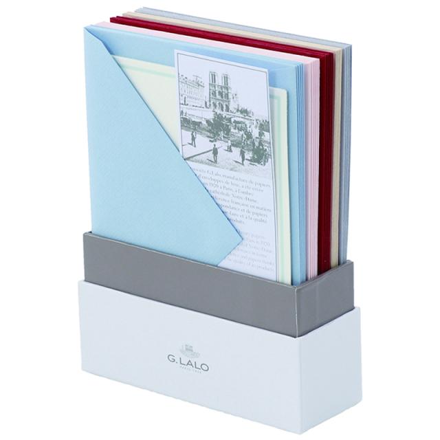 ジーラロ/ボックスカード/Assortment of 5 Colors -25 Cards and Envelopes
