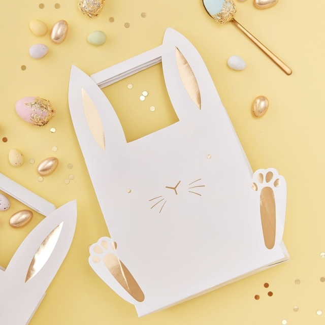 Ginger Ray/ペーパーバッグ/EASTER BUNNY TREAT BAGS
