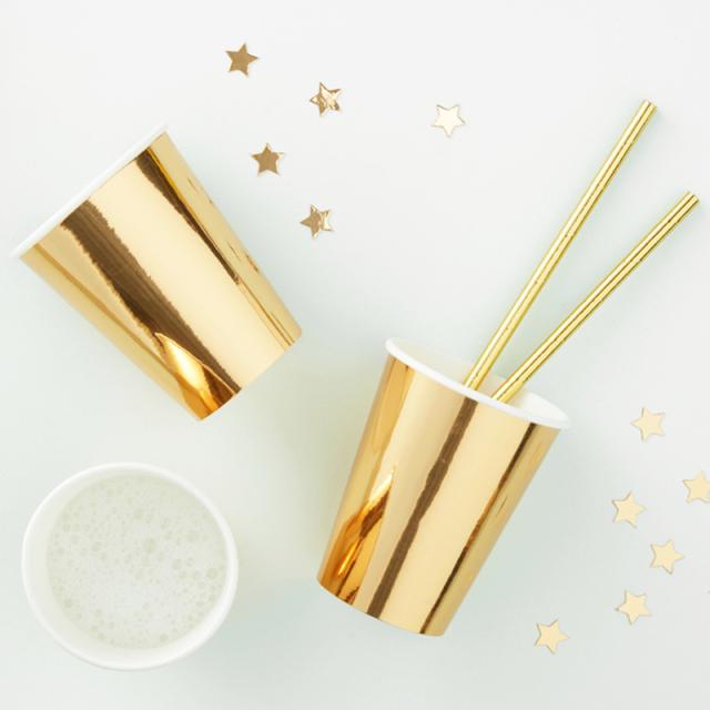 ジンジャーレイ/ペーパーカップ/Gold Foiled Paper Cup