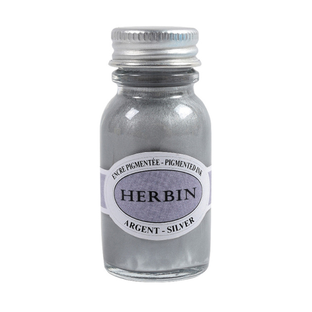 エルバン/インク/Pigmented Ink: Silver (15ml)