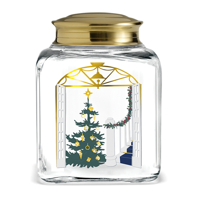 HOLMEGAARD/ガラスジャー/CHRISTMAS BISCUIT JAR 2020
