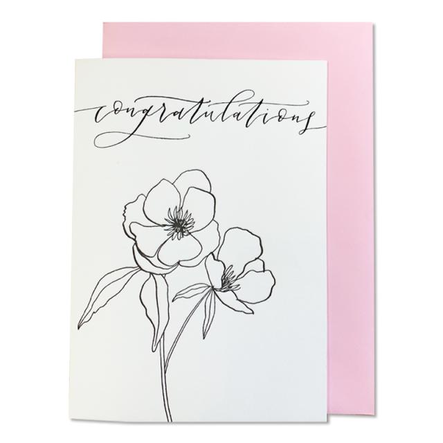 Imogen Owen/シングルカード/Botanic Anemone - Congratulations