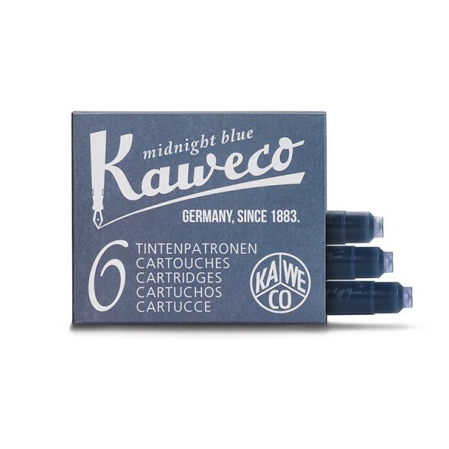 Kaweco/万年筆用インクカートリッジ/インクカートリッジ - ミッドナイトブルー