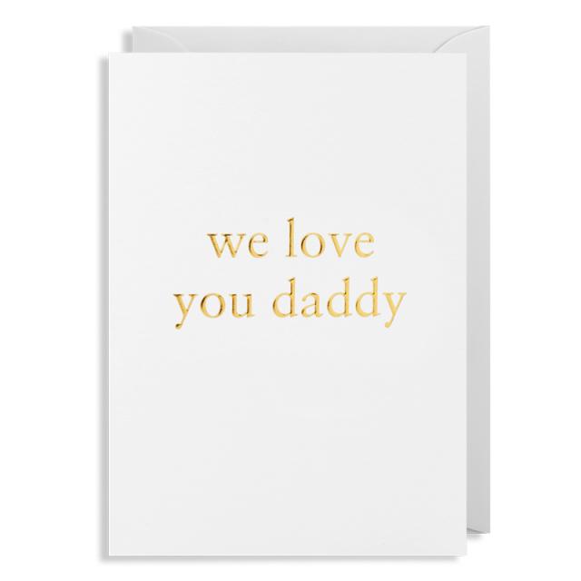 ラゴムデザイン/シングルカード/Love You Daddy