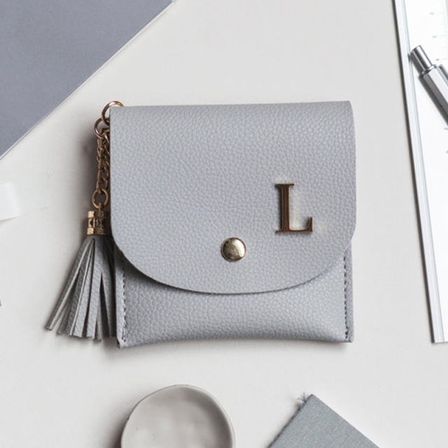Lark & Ives/カード入れ/Card Purse Gray