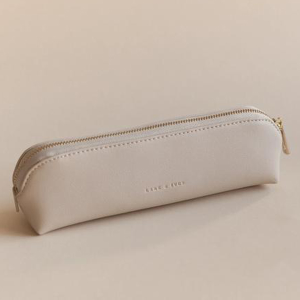 Lark & Ives/ペンケース/PENCIL CASE LATTE