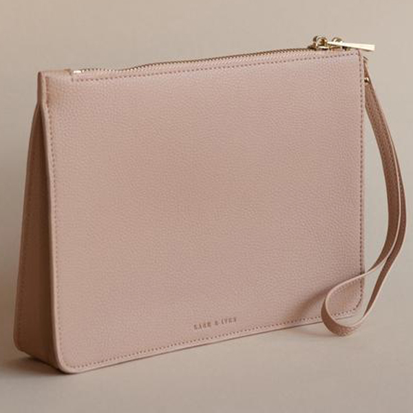 Lark & Ives/クラッチ/STRUCTURED CLUTCH CAFE ROSE
