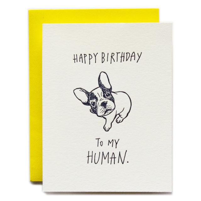 Ladyfingers/シングルカード/Happy Birthday to My Human - Dog