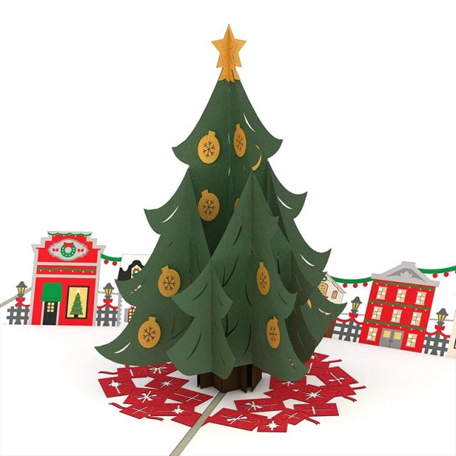 Lovepop/シングルカード/Christmas Tree Village