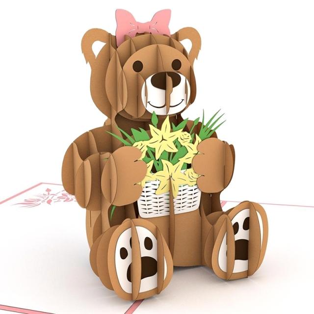 Lovepop/シングルカード/Flower Bear