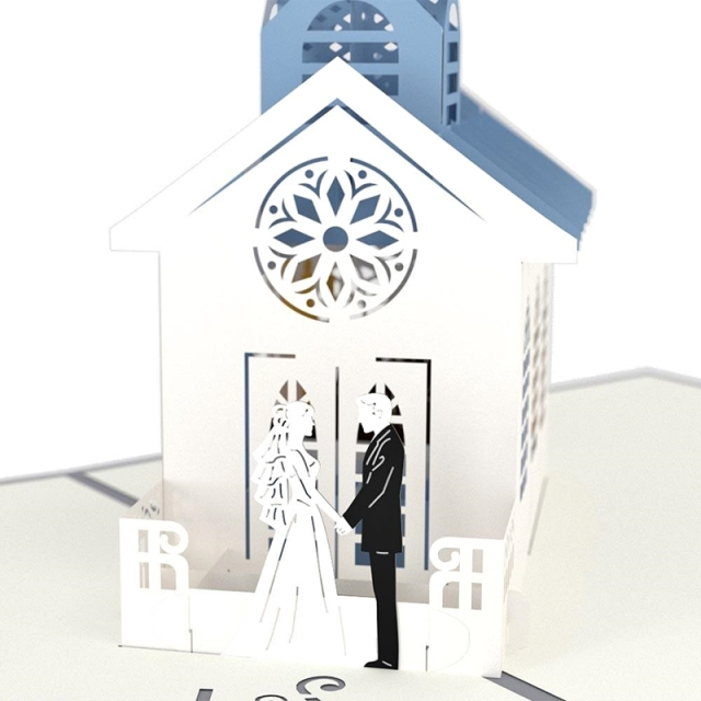 Lovepop/シングルカード/Wedding Chapel