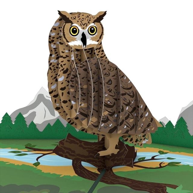 Lovepop/シングルカード/Horned Owl
