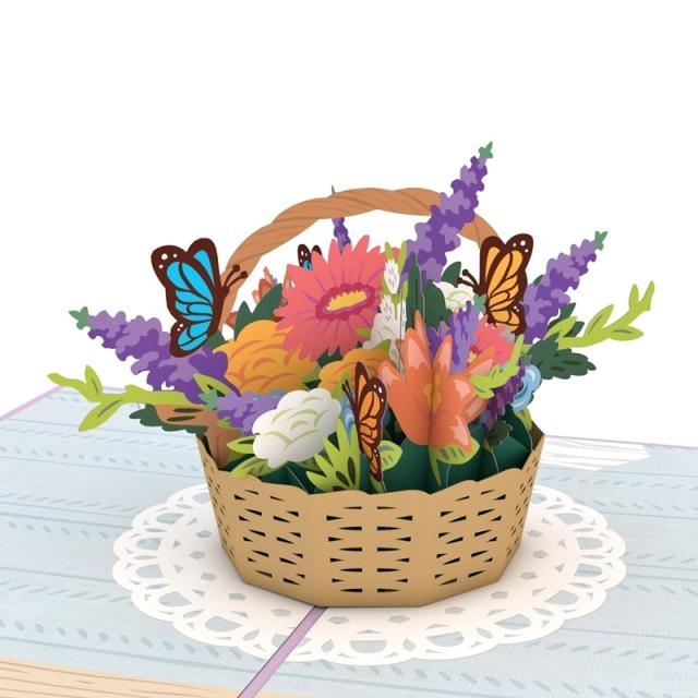 Lovepop/シングルカード/Flower Basket