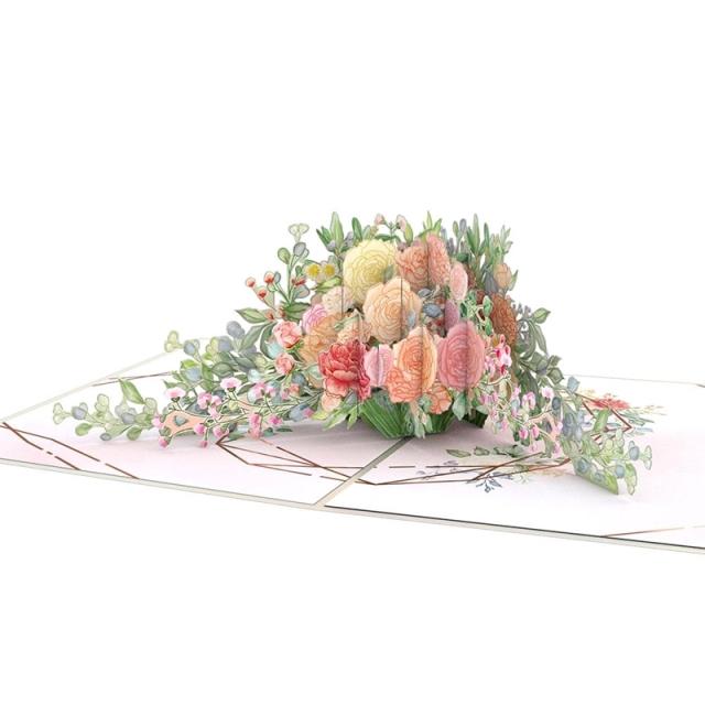 Lovepop/シングルカード/Wedding Florals