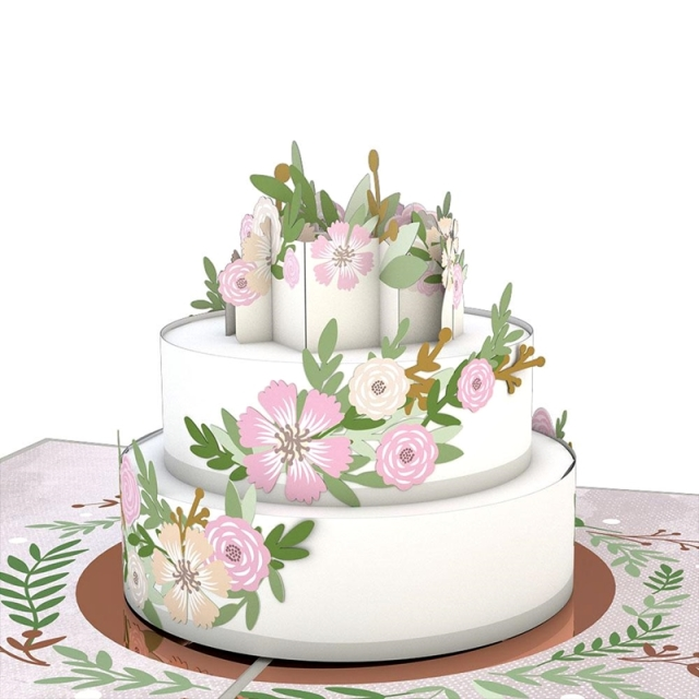 Lovepop/シングルカード/Wedding Cake