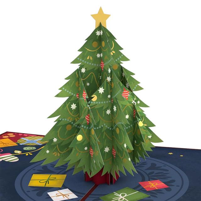 Lovepop/シングルカード/Festive Christmas Tree