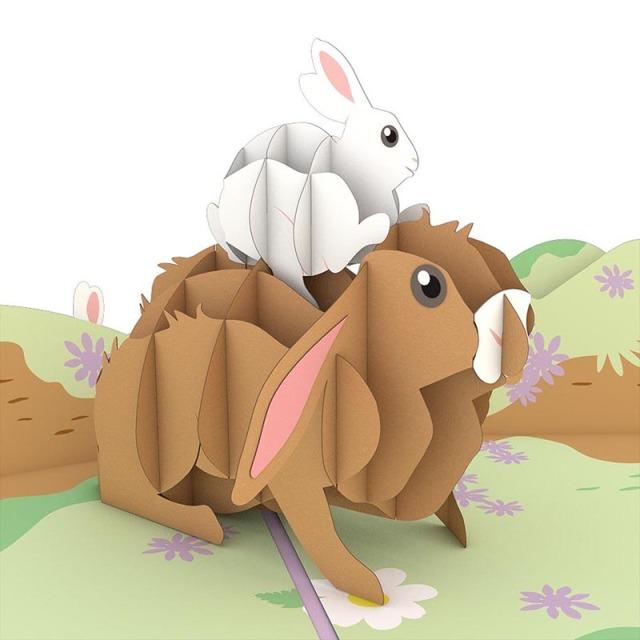 Lovepop/シングルカード/Bunny Family