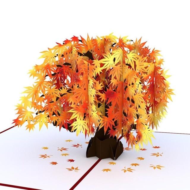 Lovepop/シングルカード/Sugar Maple Tree
