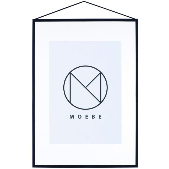 Moebe/アートフレーム/A2 Black