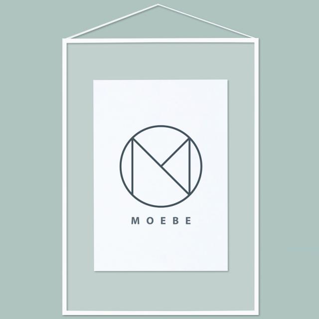 Moebe/アートフレーム/A2 White