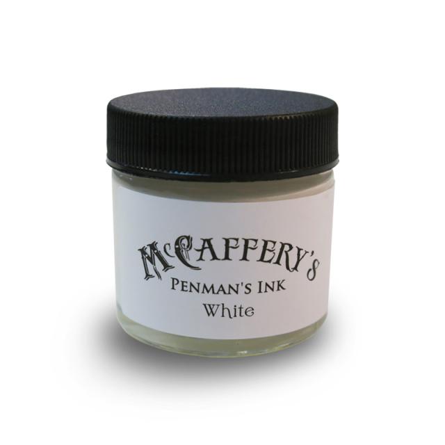 マックカファリー/インク/McCaffery's Penman's Ink: White