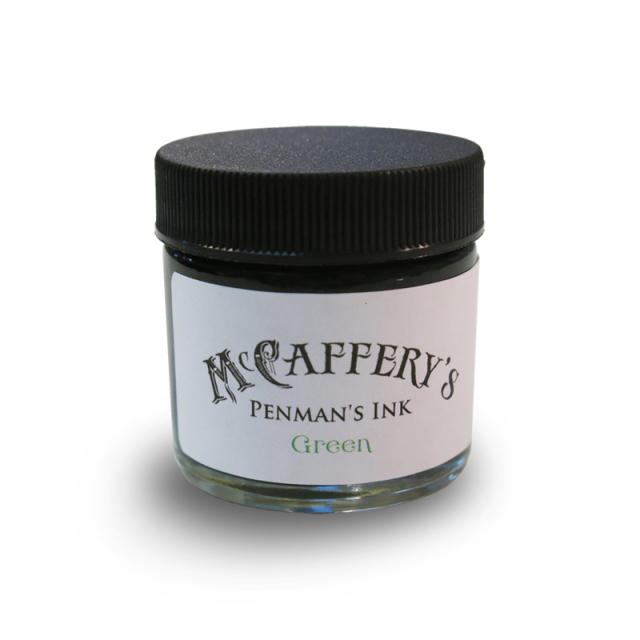 マックカファリー/インク/McCaffery's Penman's Ink: Green
