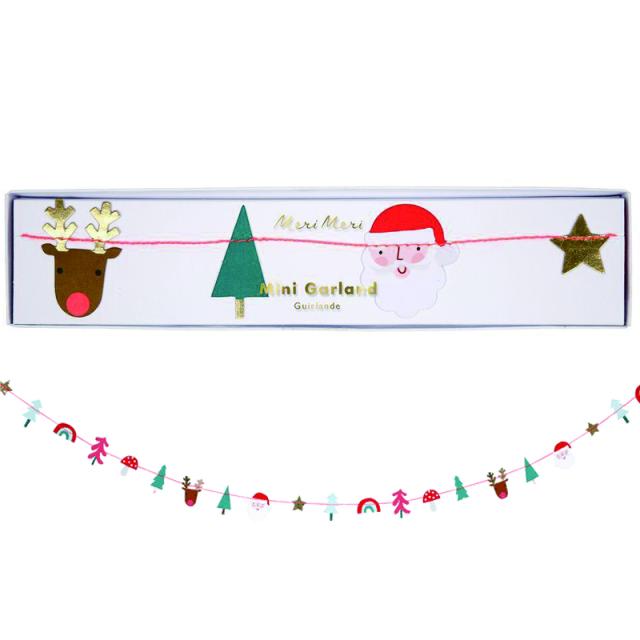 メリメリ/ミニガーランド/Christmas Mini Garland