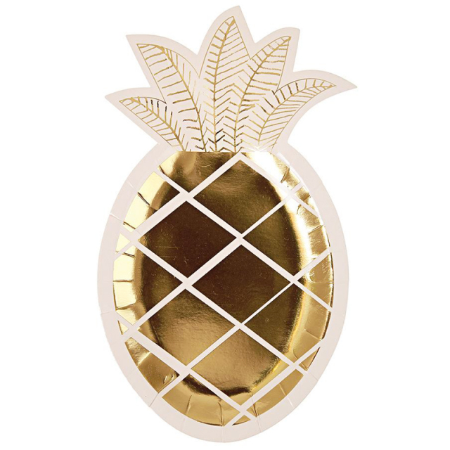 メリメリ/ペーパープレート/Pineapple Plate