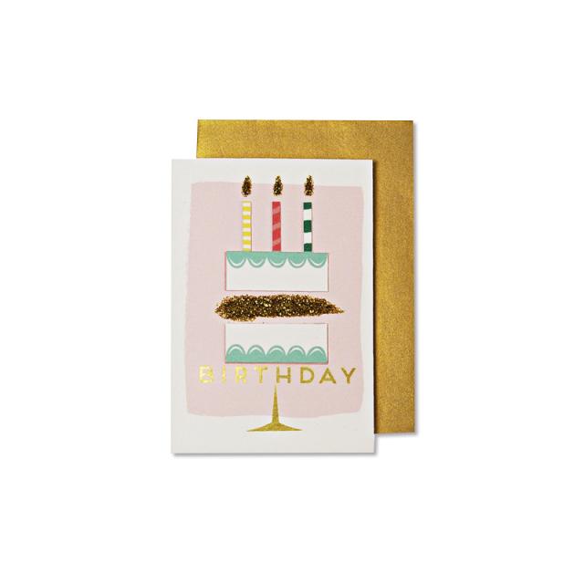 誕生日カードみに