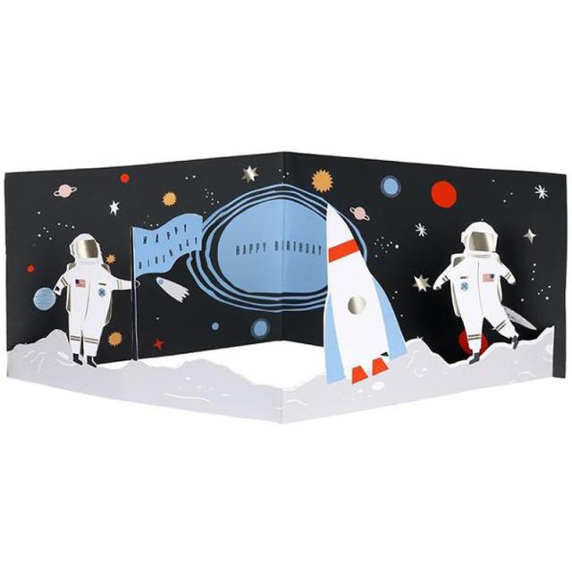メリメリ/シングルカード/Concertina Space Card